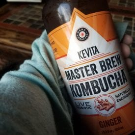 Eternally thankful for Ginger Kombucha