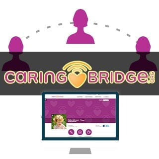caringbridge website to share your cancer journey with friends & family