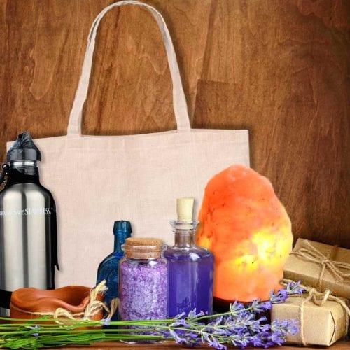 organic natural gift bags & baskets