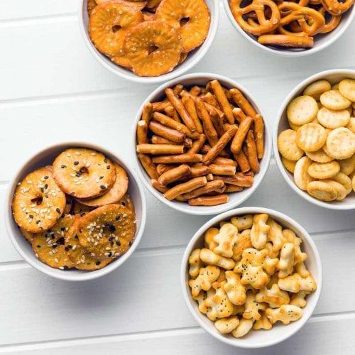buy organic salty popcorn pretzels crackers online