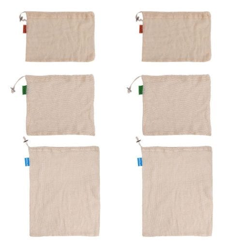 Organic Cotton Reusable Bags