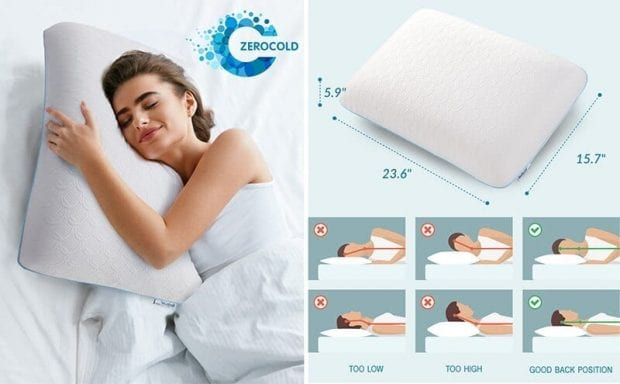 Nontoxic Memory Foam Pillow