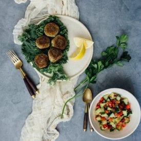 Fast and Easy Vegan Falafel