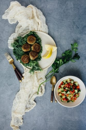 Fast and Easy Vegan Falafel