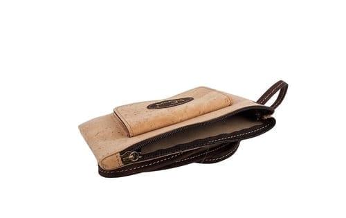 """Vegan Cork """"Leather"""" Crossbody bag"""