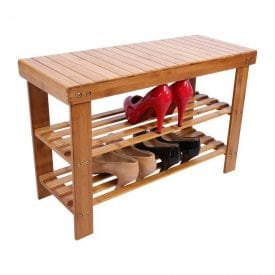 nontoxic furniture bamboo shelves