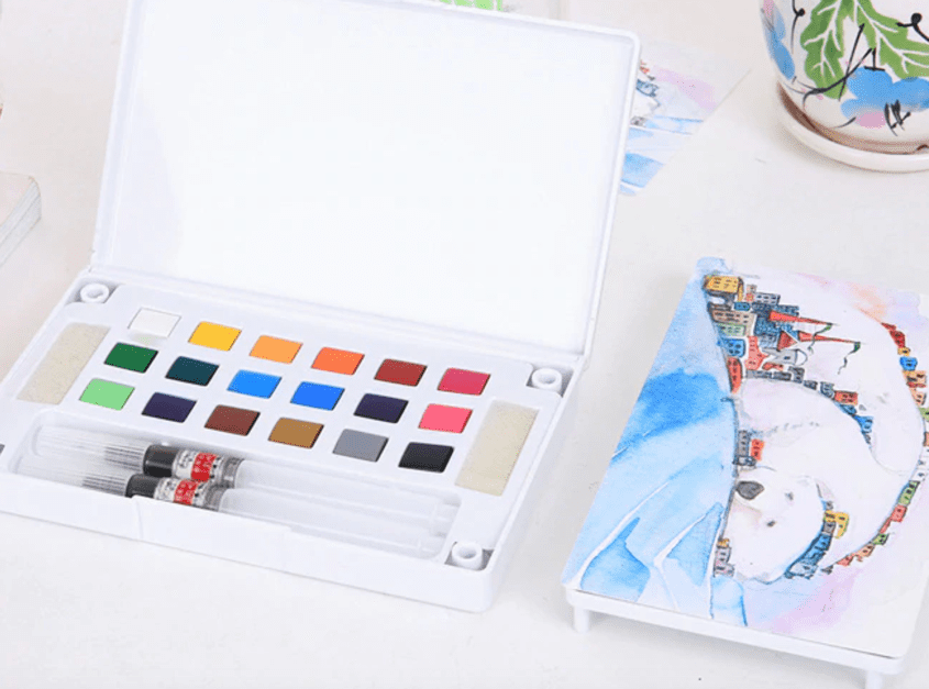 nontoxic art gifts paint set watercolors