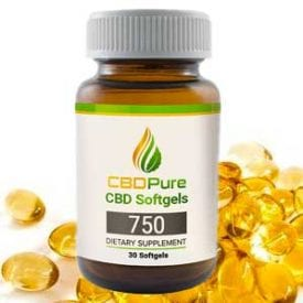 Pure Organic CBD Hemp Oil Softgels