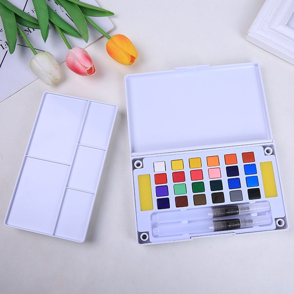 watercolor paint set nontoxic creative gifts