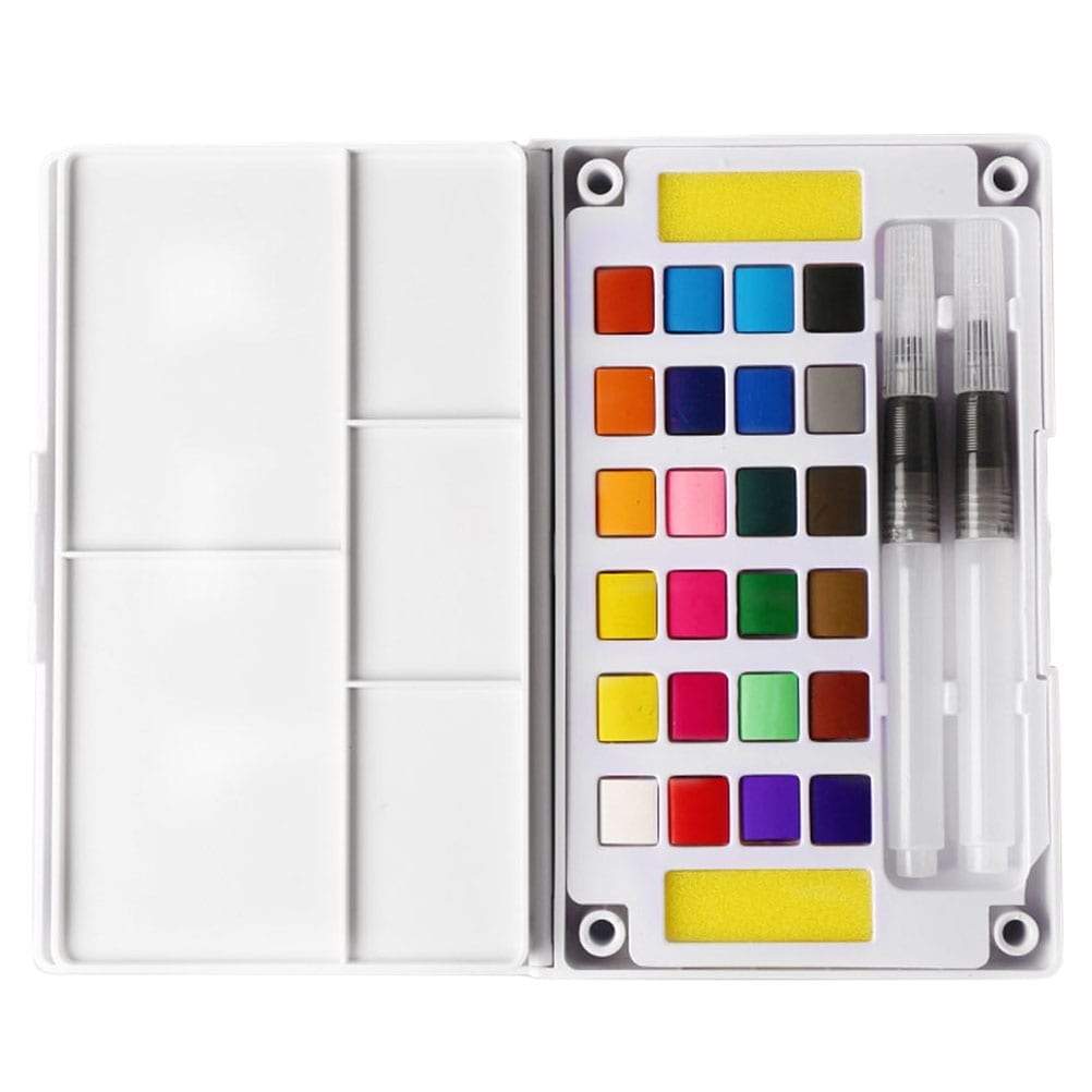 watercolor paint set nontoxic creative gifts2